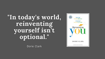 Reinventing you: define your brand, imagine your future (Dorie Clark) 1
