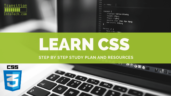 Learn CSS - step by step study plan and resources 1