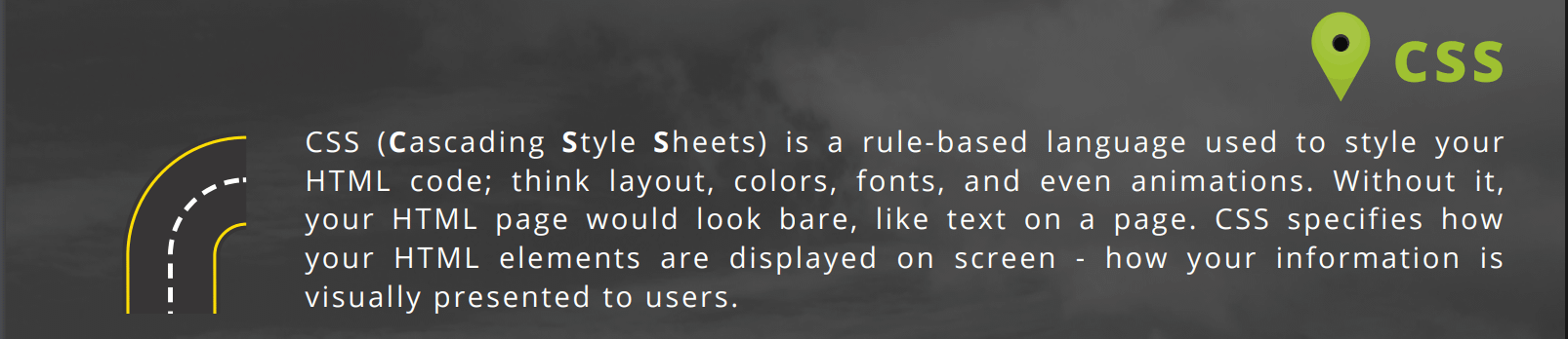 CSS excerpt from roadmap